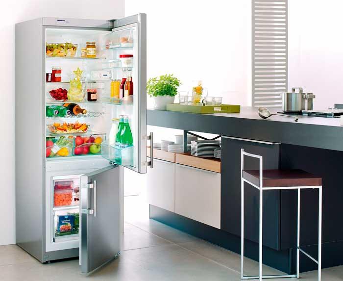 При хранении продуктов в холодильнике не забывайте о зонах хранения