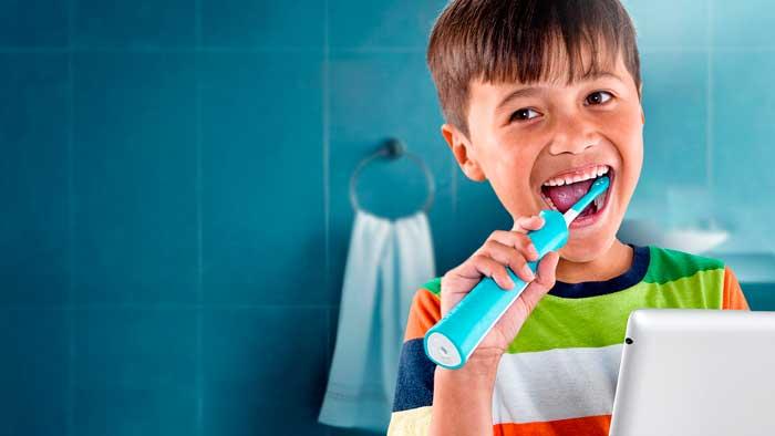 Электрические зубные щетки для детей делают процесс чистки зубов более приятным и увлекательным