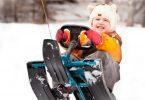 Выбираем детский снегокат