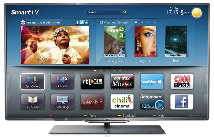 Наслаждайтесь досугом возле телевизора с функцией Smart TV