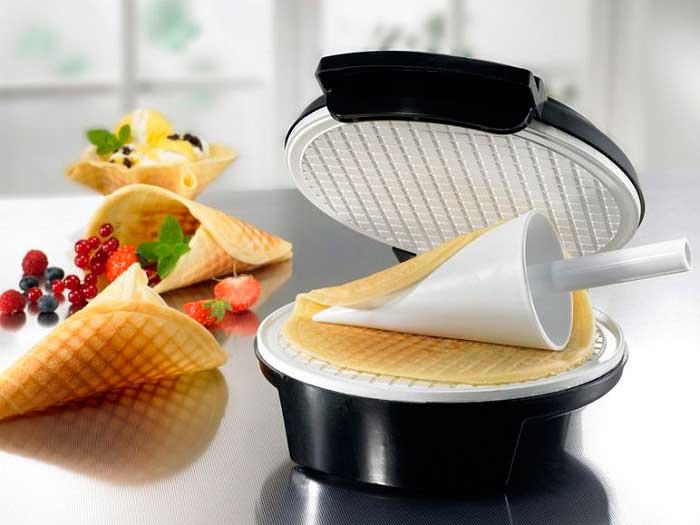 Благодаря антипригарному покрытию вафли не пригорают
