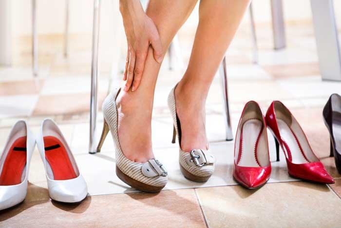 Для офиса выбирайте туфли с широким каблуком