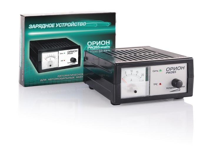 Зарядное устройство для автомобильного аккумулятора орион