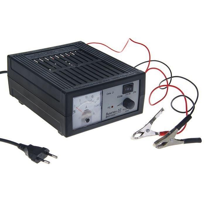 Процесс зарядки осуществляется в автоматическом режиме