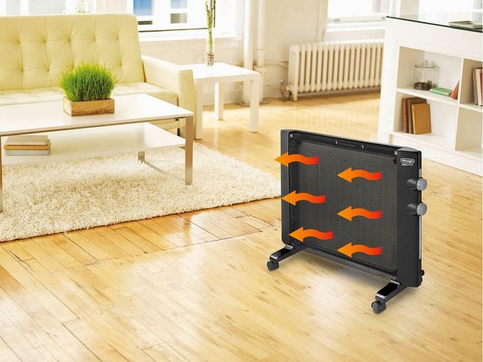Стильный современный дизайн обогревателя впишется в интерьер любой квартиры
