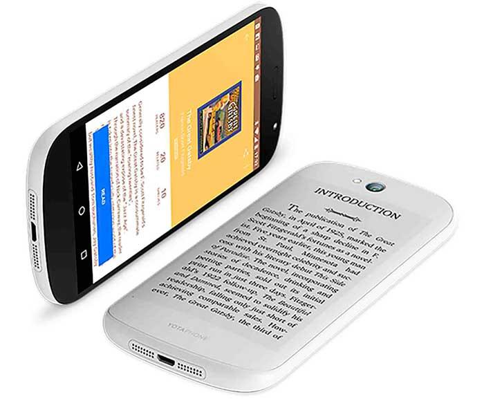Фирменная фишка смартфона Yotaphon 3: два полноразмерных экрана