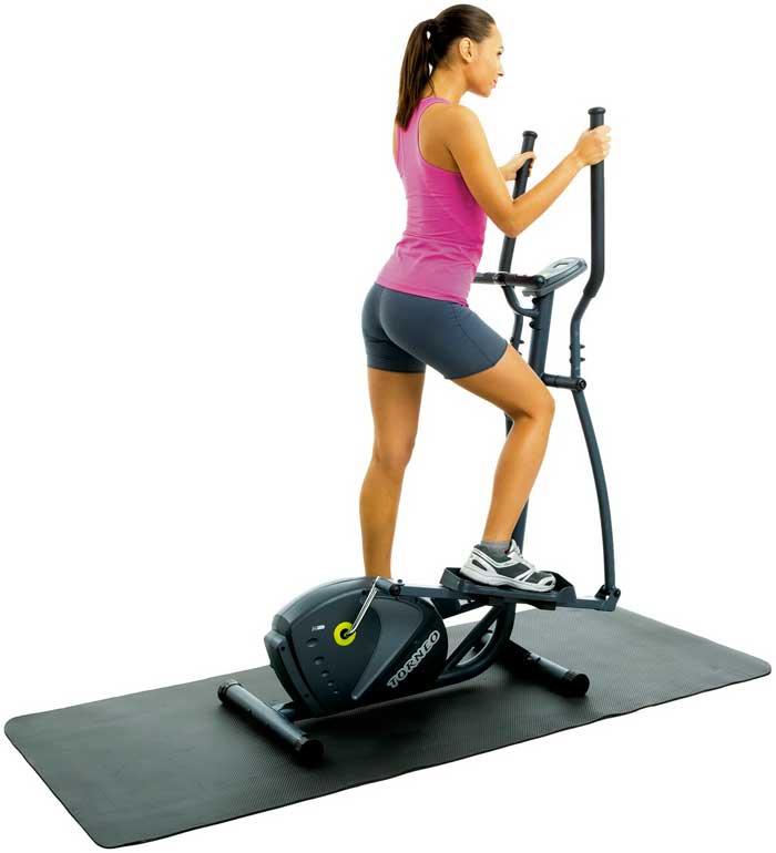 Действие эллипса направлено на работу всех групп мышц