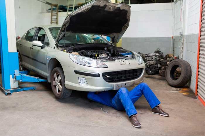 Оцените состояние днища машины