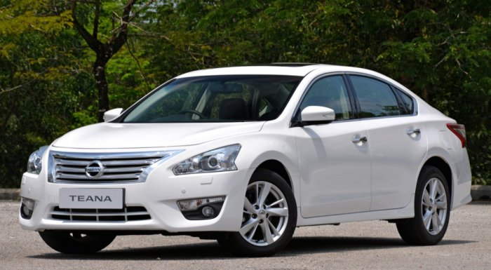 Автомобиль Nissan Teana