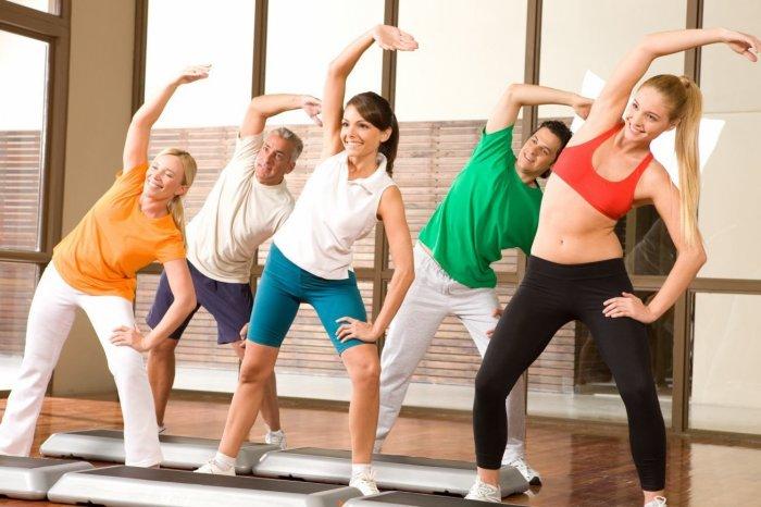 Аэробика считается одним из самых веселых видов гимнастики