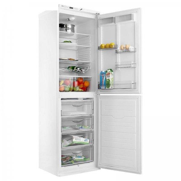 Классический дизайн холодильника подойдет под любой интерьер кухни