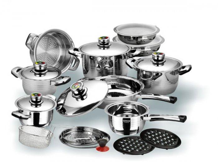 Набор посуды Vitesse из высококачественной нержавеющей стали