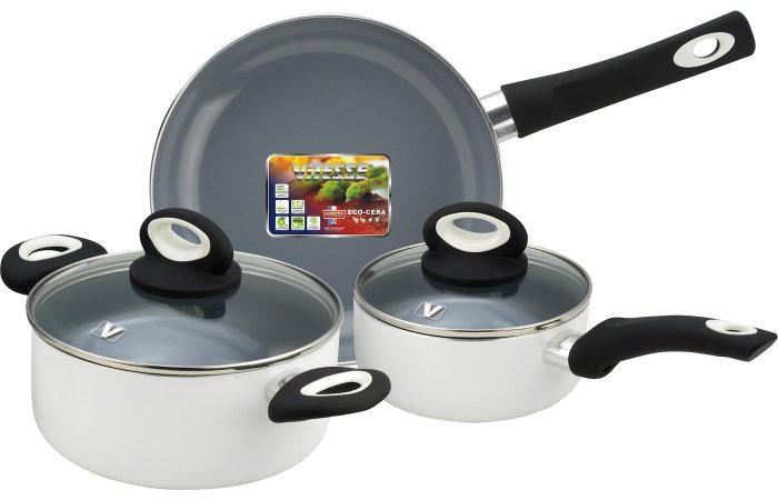Посуда Vitesse позволяет готовить без масла, воды, жира