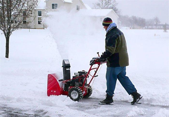 Проблема снежных завалов решается легко и просто