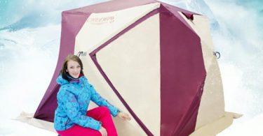 Выбираем зимнюю палатку для рыбаков