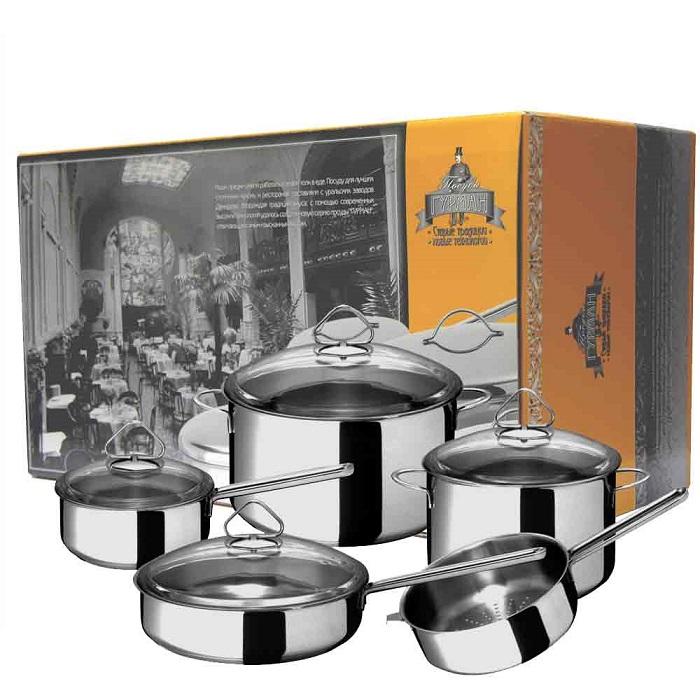 Посуда из нержавеющей стали Гурман качество по доступной цене