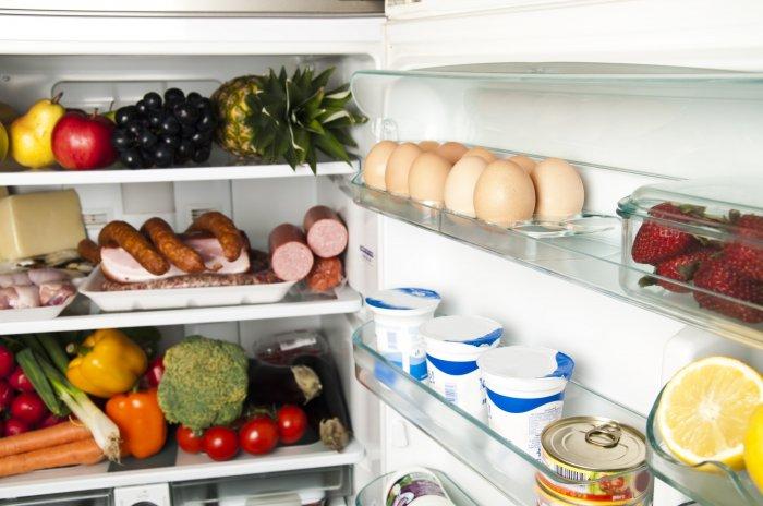 Продукты охлаждаются равномерно в соответствии с установленными нормами
