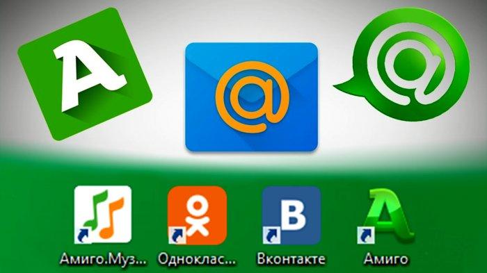 Быстрый доступ к социальным сетям
