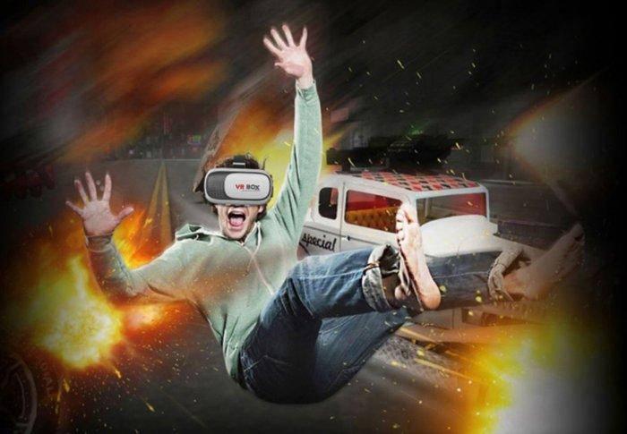 С помощью 3D-очков геймеры могут полностью погрузиться игровой мир