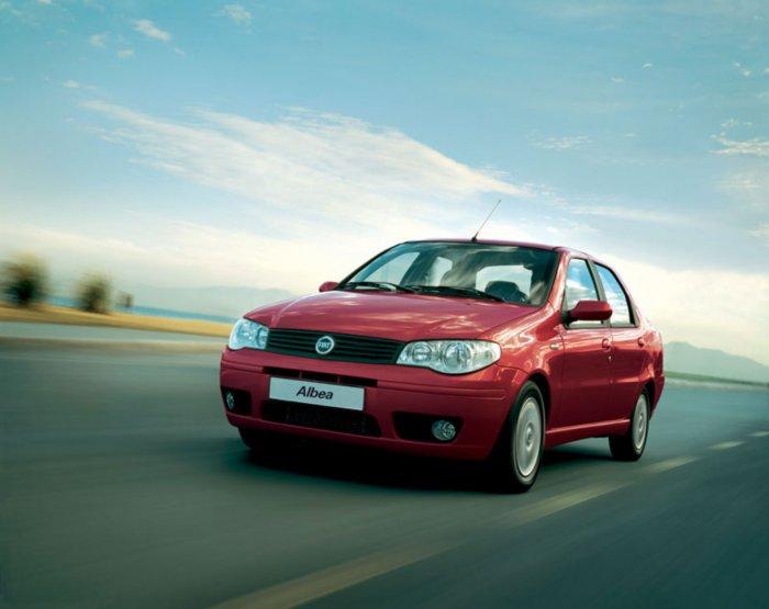 Автомобиль Fiat Albea