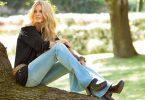 Девушка в джинсах