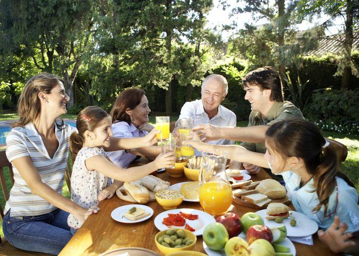 Совместные ужины укрепляют отношения