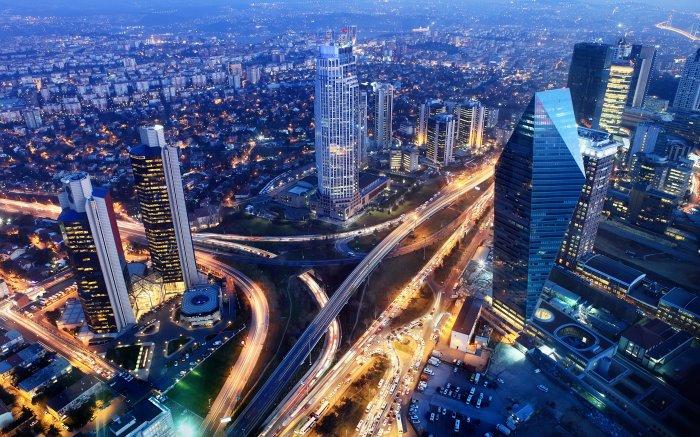 Современная и удобная инфраструктура в Стамбуле.