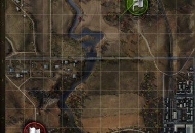 Выбираем карту в world of tanks
