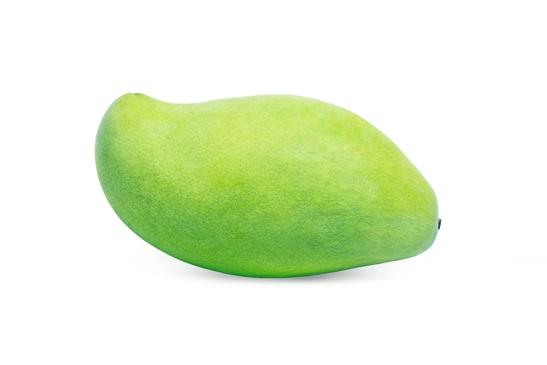 Манго зеленого цвета